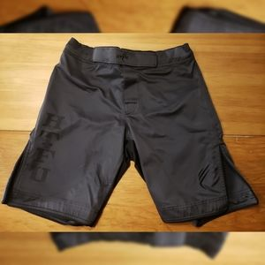 HTFU Training Shorts Black American Flag 32
